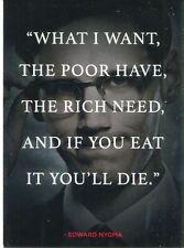 Gotham Season 1 Quotes Chase Card Q7 Edward Nygma