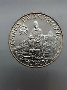 1000 Lire 1994 fdc/unc arg. Citta' del Vaticano / Vatican Giovanni Paolo II