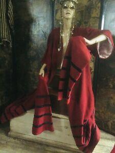ANTIQUE/VINTAGE ORIGINAL BRYANT & RAIKES 1930s THEATRE COSTUME COAT/GOWN/CLOAK