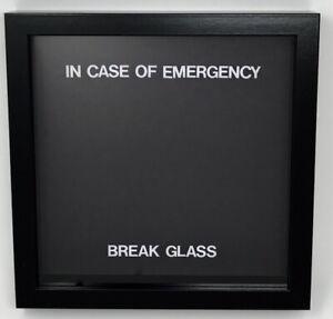 In Case Of Emergency Break Glass Novelty Gift Blank Fill As You Wish Or Filled