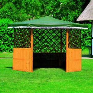 PROMADINO Pavillon MARBURG ohne Möbel 309x309x211cm Gartenlaube 373/13