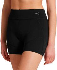 PUMA Womens Shorts Ignite Tight Black UK 10 DryCell Reflective iPhone Zip Pocket