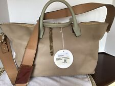 Chole Baylee large Two-Tone leather Tote
