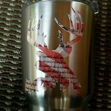 Decal/Sticker for Cooler Cup American Buck