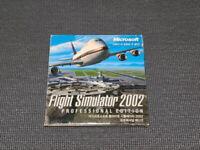 Microsoft Flight Simulator 2002 PC Game Korean Version Windows CD ROM Retro Rare