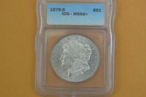1879-S Morgan Dollar ICG MS66+