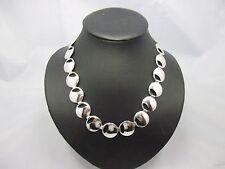 elegantes leichtes Collier Sterling Silber 925 punziert