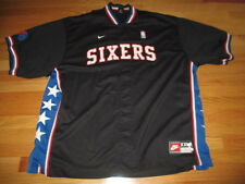 Nike PHILADELPHIA 76ers Snap Button-Down Warm-Up (2XL) Basketball Jacket