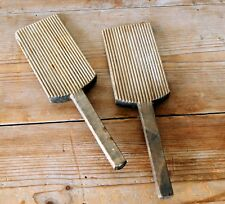Vintage Pair of Wooden Butter Pats Kitchenalia Butter Making Shaping Paddles