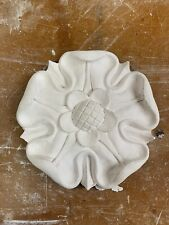 Tudor Rose Plaster Ceiling Rose 190mm