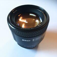 Nikon 85mm 1.8 Af Nikkor AF-D 85 f 1,8 Portrait Tele