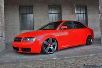 Mücke Kotflügel GFK verbreitert 3,5 cm breiter pro Seite - Audi A4 B6