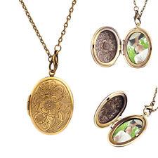 Anhänger für 2 Foto MedaillonTalisman Medallion zum öffnen Antik Bronze Vintage