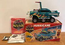 VINTAGE 1986 KENNER MASK VEHICLE BOX HURRICANE W BOX 99% COMPLETE