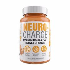 NeuroCharge - Nerve Supplement Acetyl L-Carnitine Neuropathy Treatment 3 Bottles