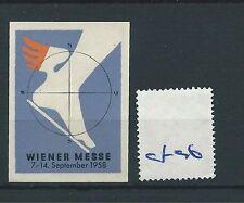 wbc. - CINDERELLA/POSTER - CF96 - EUROPE - WIENER MESSE - 1958