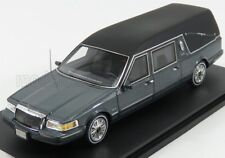 wonderful modelcar LINCOLN Towncar Hearse 1997 - greymetallic/black - 1/43 - ltd