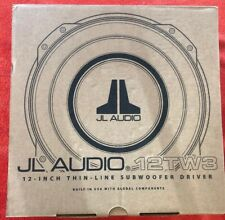 "JL AUDIO 12TW3-D4 12"" 400W TW3 CAR SHALLOW MOUNT STEREO SUB WOOFER"
