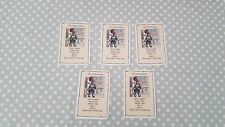 Heroquest Wizards of Morcar Men at Arms The Swordsman 5 Cards (missing 1)