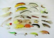 Floating Fly Box with 29 New Saltwater Flies