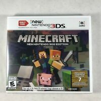 Minecraft Nintendo 3DS Edition (Nintendo 3DS , 2017) New Factory Sealed