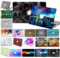 "Laptop Hard Case Shell Keyboard Cover for 2018 Macbook Pro 13"" 15"" inch Retina"