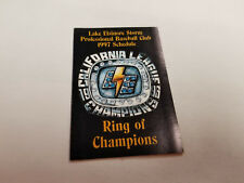 Lake Elsinore Storm 1997 Minor Baseball Pocket Schedule - Blockbuster