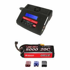 Venom 20C 3S 5000mAh 11.1V LiPo Battery with Pro 2 Charger Combo