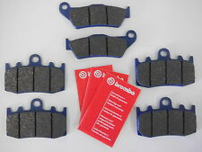 Brembo organ. Bremsbeläge Bremsbacken vorne + hinten BMW R 1200 GS / S / RT / ST