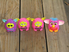 Lot Of 4 MCDONALD'S HAPPY MEAL FURBY TOYS 1998 2012 CHINA - FREE SHIPPING