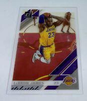 2019-20 CLEARLY DONRUSS LEBRON JAMES BASE CARD # 20 LA Lakers