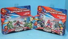 MARVEL SUPER HERO SQUAD 2 SETS ESCAPE FROM LIZARDS LAIR & SUPER VILLAIN SURPRISE
