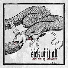 SICK OF IT ALL - LAST ACT OF DEFIANCE  CD NEU