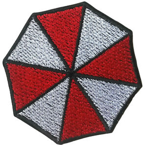 Umbrella Corp Patch Embroidered Patches Iron On Jacket Badge Cap Jeans Applique