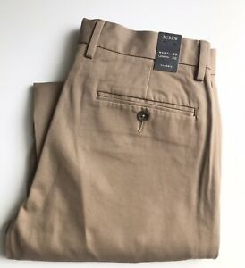 J. Crew Pants / Chinos, 29 x 32, Dark Khaki, Classic Fit, New-with-Tags