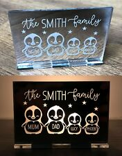Personalised Christmas Gifts For Her Kids Family Decoration Candle Holder Gifts