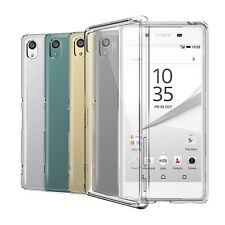 Xperia Z5 Case Orzly Fusion Bumper Case for Sony Xperia Z5 - Clear