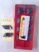 10  NEW SANDVIK TLG-4213L  TOP NOTCH CARBIDE INSERTS. GRADE:  H13A.  {N316}