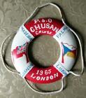 Original Souvenir Liner SS Chusan P&O Line Cruise Lifebelt 1965