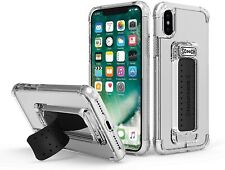 Scooch Wingman 5-in-1 Case for the iPhone X and Xs - Clear