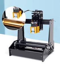Small Cylindrical Printing Cnc Engraving Machine Grbl Desktop Laser Engraver 15w