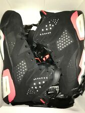 [GREAT CONDITION] Air Jordan 6 Retro Basketball Shoes SZ 11- Black Infrared