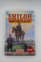 Vintage Shiloh For The Apple II II+ IIe IIc Computer System Complete In Box