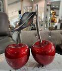 Stunning New, Aluminium Double Cherry  Ornaments,  Table Decor