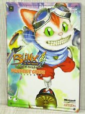 BLINX THE TIME SWEEPER Perfect Guide Xbox Book EB66*