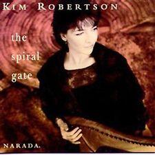 Kim Robertson CD The Spiral Gate New Age Celtic Harp & Female Voice MINT