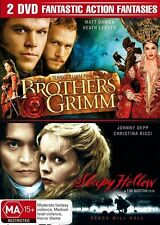 The Brothers Grimm  / Sleepy Hollow (DVD, 2007, 2-Disc Set)