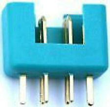 10x YUKI MODEL Goldkontakt MPX Stecker 600023