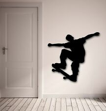 Wall Stickers Vinyl Decal Skateboarder Extreme Action Sports Board (ig831)
