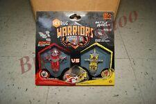 Hexbug Warriors Battling Robots Battle Arena Caldera S1-4E vs Tronikon S1-1D New